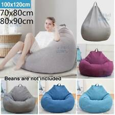 Fr Adults Kids Extra Large Bean Bag Chairs Couch Sofa Cover Indoor Lazy Lounger'