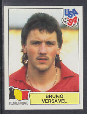 Panini - USA 94 World Cup - # 364 Bruno Versavel - Belgique (Green Back)