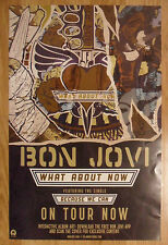 Music Poster Promo Bon Jovi - What About Now - DS Double Sided