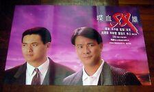 "Chow Yun-Fat ""The Killer"" John Woo 1989 Hong Kong Original POSTER A"