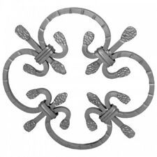 New Arteferro Italian Hand Forged Decorative Wrought Iron Rosette 17/2