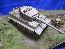 AF009 TAMIYA 1/35 Tigre 1 Panzer Kampfwagen VI Sd Kfz181 Ausfuhrung MONTE WW2
