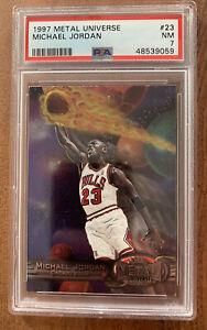 Michael Jordan 1997 Metal Universe #23 PSA 7 🔥 PMG