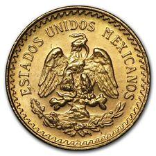 1945 Mexico Gold 2 1/2 Pesos BU