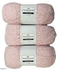 Buttercream Luxe Craft Angel Hair 3.5 oz / 120 yds Lot #6192 Pale Pink 3 Skeins
