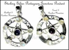 Handmade Moonstone Sterling Silver Fine Necklaces & Pendants