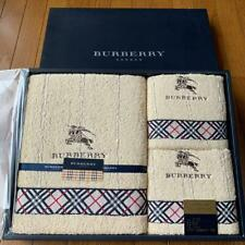 Burberry Bath Towel & Face Towel Set