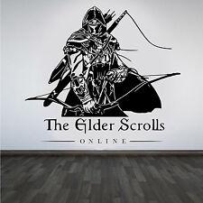 The Elder Scrolls Online Game Unofficial Wall Art sticker/Decal