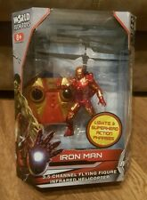Marvel Iron Man Figure 3.5 Channel Flying Figure Infrared Helicopter
