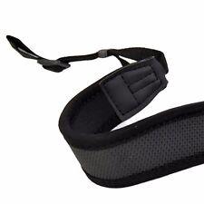 Black Anti-Slip DSLR Camera Neoprene Neck/Shoulder Strap for Canon, Nikon, Sony,