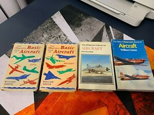 Observer's Book of Aircraft 4 Versions 1967, 1972, 1986