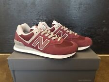 NEW IN THE BOX NEW BALANCE WL574ER BURGUNDY LIFESTYLE SHOES FOR WOMEN