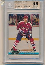 1991 Stadium Club Hockey Peter Bondra (#37) (Population of 1) BGS9.5 BGS