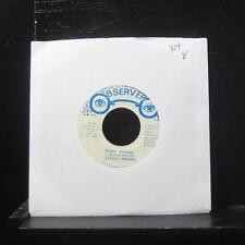 "Dennis Brown - Name Brand / Version 7"" VG+ Vinyl 45 Observer Jamaica"