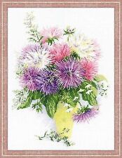 Counted Cross Stitch Kit RIOLIS - ASTERS
