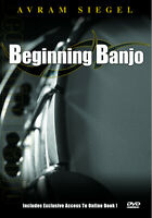 Learn How To Play The Banjo Lessons For Beginners Video DVD + FREE USA SHIPPING