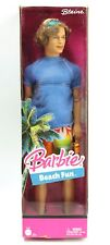 Barbie Beach Fun BLAINE Boy Doll Blue Shirt Orange Shorts 2005