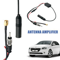 Universal Amplifier DAB FM AM Car Antenna Aerial Splitter Digital Radio Cable