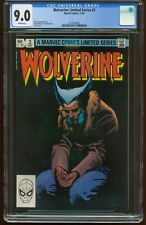 WOLVERINE 3 LIMITED SERIES NOV 1982 CGC-GRADED 9.0 VF/NEAR MINT MARVEL G-423