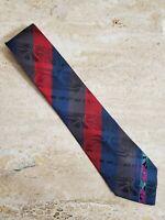 AUTHENTIC ~ LEONARD Paris 100% Silk Neck Tie Made in Italy ~ EXCELLENT