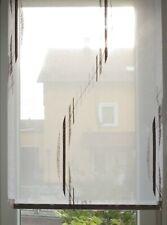 55cm B//H Stickerei Kurzgardine Gardine Scheibengardinen Bis 45 1 Lamelle 16,2