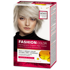Rubella Fashion Color Permanent Hair Cream with Rise Protein Nourishing Shades