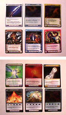 CHAOTIC ZENITH OF THE HIVE 18 DIFFERENT OF 100 CARD SET - EXCELLENT COND