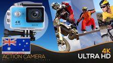 Action Camera 4K Ultra HD WIFI Sports DVR Waterproof Sony 16 MP Sensor 170 FOV