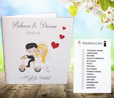 Personalised Childrens Kids Wedding Activity Pack Book Favour 6x6inch Ab5