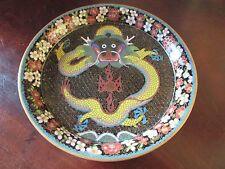 Antique Oriental Style Circular Dish c.1900-20