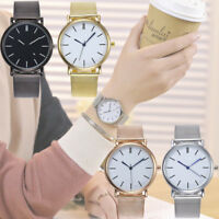 Women Casual Quartz Stainless Steel Marble Strap Watch Analog Wrist Watches SA
