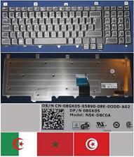 CLAVIER QWERTY ARABE DELL Alienware Area-51 M17x NSK-D8C0A 08GK05 Noir BACKLIT