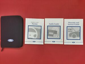 2002-2005 Ford Fusion Owners Manual Handbook Audio Book Wallet 2002