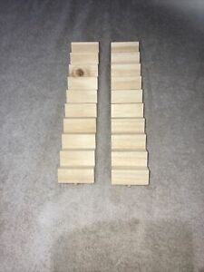 Hobbies Straight Case Doll House Staircase X2 Lengths