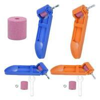Portable Drill Bit Sharpener Corundum Grinding Wheel for Grinder Polishing Kit