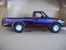 1:25 AMT Assembled Plastic Model Kit 1993 Ford Ranger STX 4x4 Dark Plum Metallic