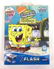 SpongeBob Squarepants Idea Sponge Nickelodeon Game Vtech VFlash 2006 Ages 8-10
