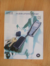 M&S Mobile Phone Charger + Batteries Anytime Anywhere, Various Adaptors - BNIB!!