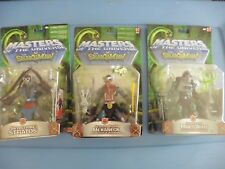 MOTU vs Snakemen SERPENT CLAW MAN AT ARMS + SERPENT TRACK MAKANECK + S S STRATOS