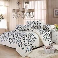 Leaf  Vine Single King Queen Duvet Cover Pillow Case Quilt Cover Bedding Set