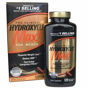 Muscletech HYDROXYCUT MAX Pro Clinical 120 capsules for Women