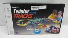 Kuultoy Autorennbahn Leuchtend für Kinder, Magic Trucks Twister Tracks Starter
