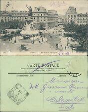 Paris La place de la Republique