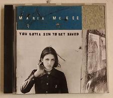 Maria McKee You Gotta Sin To Get Saved CD Alemania 1993