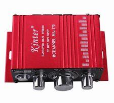 AMPLIFICATORE PER AUTO AUDIO STEREO MA-170 CD DVD MP3 USB 2 CHANNEL