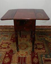 Antico tavolo a bandelle Inghilterra fine '800