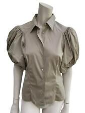 MOST WANTED Prada Beige Puffed Sleeve Blouse I 42 UK 10 US 6