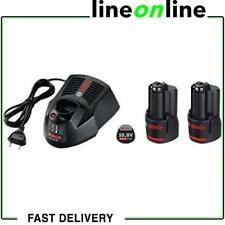 Bosch ensemble n. 2 batteries GBA 10,8V 3,0 Ah + chargeur de batterie AL 1130 CV