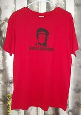 Busted Tees The Joke's On you XL Red Viva La Evolucion men's fitted Planet Ape