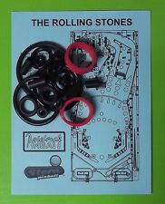 Stern The Rolling Stones pinball rubber ring kit